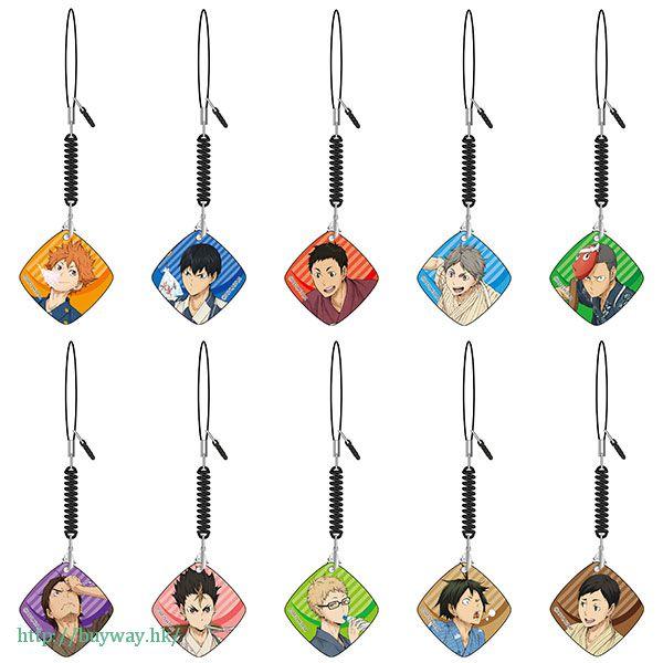 排球少年!! 手機清潔掛飾 夏祭 ver. (10 個入) Smartphone Cleaner Natsumatsuri ver. (10 Pieces)【Haikyu!!】