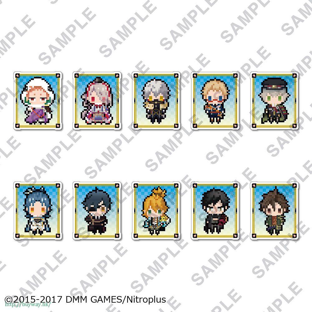 刀劍亂舞-ONLINE- 透明 徽章夾 Vol.2 (10 個入) Clear Clip Badge Vol. 2 (10 Pieces)【Touken Ranbu -ONLINE-】